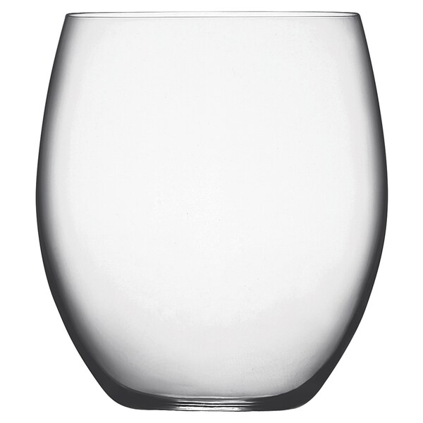 Luigi Bormioli Allegro 17.5-ounce Stemless Wine Glasses (Set of 4)