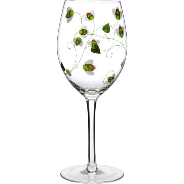 Luigi Bormioli Floral Detail Martini Glasses