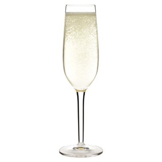 Luigi Bormioli Roma Champagne Glass Flutes (Set of 4)
