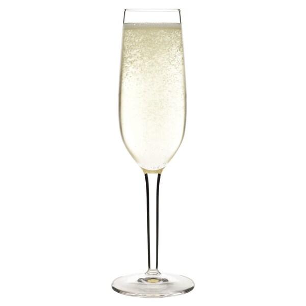Luigi Bormioli Roma Champagne Glass Flutes (Set of 4)