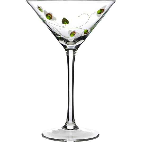 Luigi Bormioli Floral Wine Glasses (Set of 2)