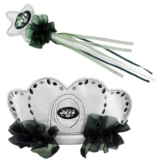 Bleacher Creatures New York Jets Tiara Wand Set