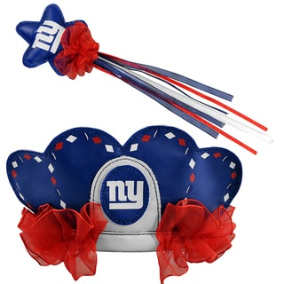 Bleacher Creatures New York Giants Tiara Wand Set