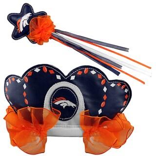 Bleacher Creatures Denver Broncos Tiara Wand Set
