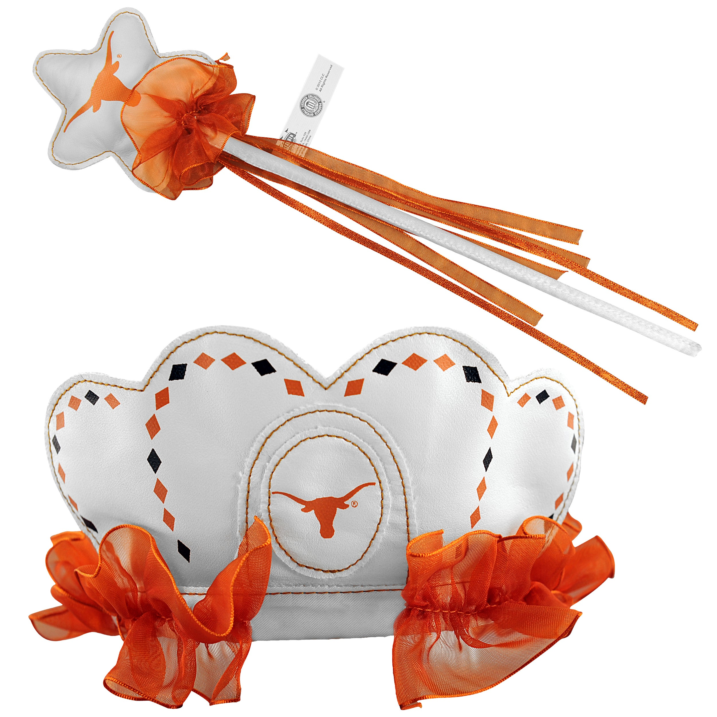 Bleacher Creatures Texas Longhorns Tiara Wand Set