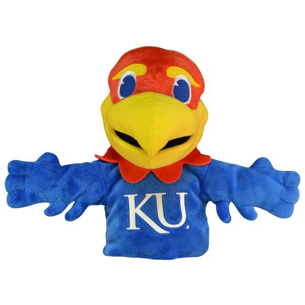Bleacher Creatures Kansas Jayhawks 'Big Jay' Mascot Hand Puppet
