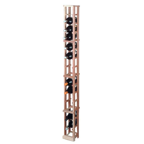 Wine Cellar Innovations Traditional Redwood 1-column Magnum Storage Wine Rack