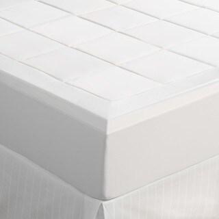 Slumber Solutions Machine Washable 1.5-inch Queen/ King-size Memory Foam Mattress Topper