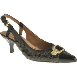 Women's Circa Joan & David Classy Medium Green Reptile