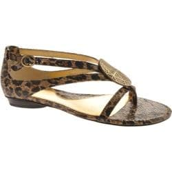 Women's Circa Joan & David Egan Natural Multi Reptile