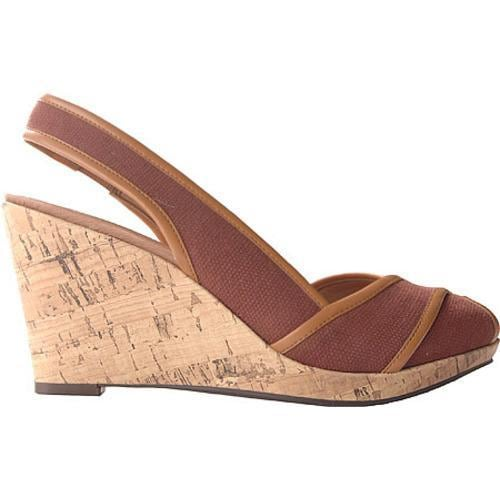 Women's Circa Joan & David Narcissus Dark Brown/Medium Natural