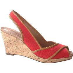 Women's Circa Joan & David Narcissus Medium Red/Medium Natural
