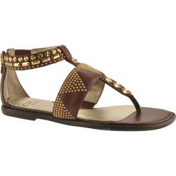 Women's Circa Joan & David Summerfun Brown Leather