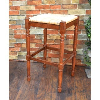 30 Inch Antique White Morgan Bar Stool 14768158