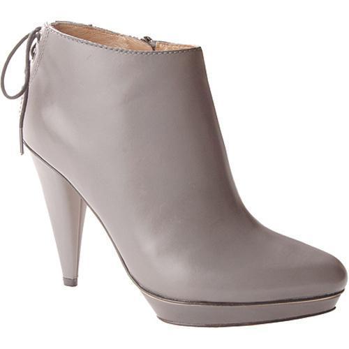Women's Joan & David Abbot Dark Grey Leather