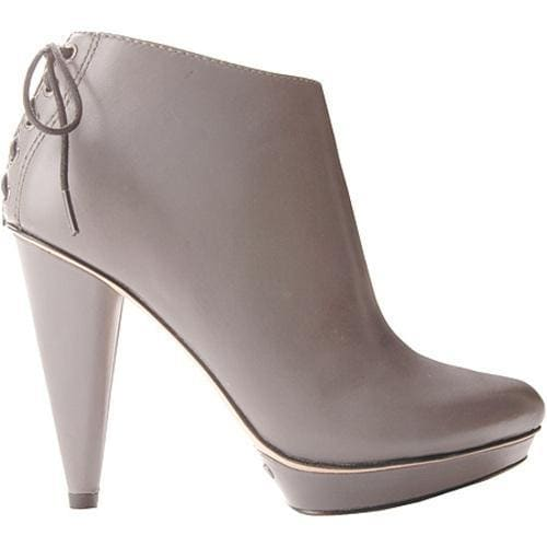Women's Joan & David Abbot Dark Grey Leather
