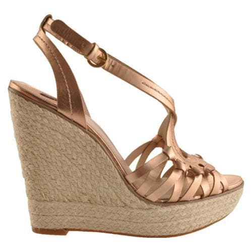 Women's Joan & David Dreena Rose Gold Metallic Leather