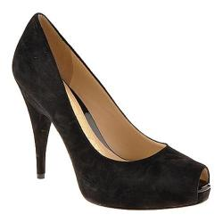 Women's Joan & David Felicita Black Suede