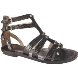Women's Joan & David Ferona Black Reptile