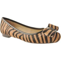 Women's Joan & David Hillard Dark Brown Nat/Black Pony