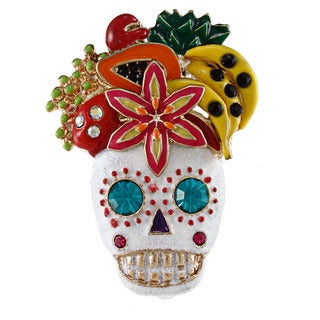 Betsey Johnson Skull Fruit Fashion Ring