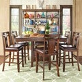 Marsden Rustic Brown 7-piece Mission Counter Height Dining Set