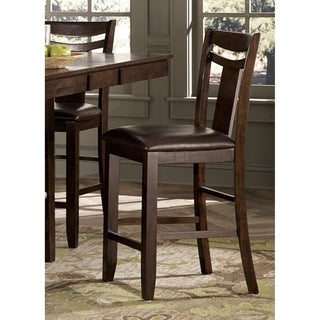 Marsden Dark Brown 24-inch Counter Height Stool (Set of 2)
