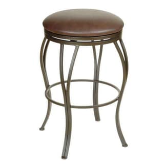 Fully Assmbled Tucson Counter Stool With Full Swivel