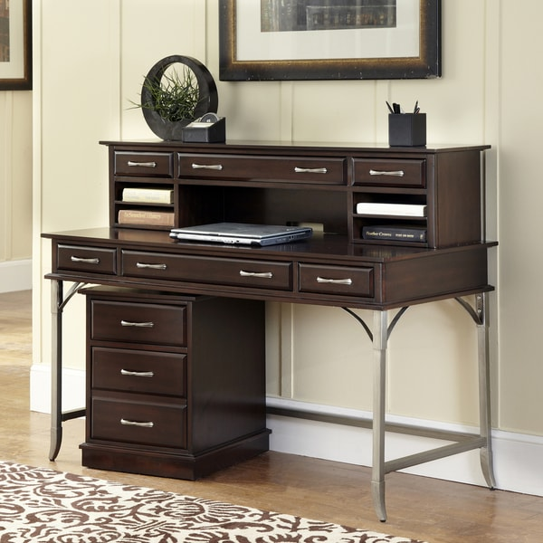 Bordeaux Executive Desk Hutch Mobile File 14769090