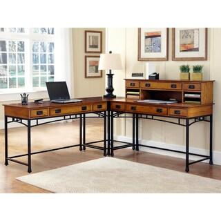 home styles modern craftsman corner 39 l 39 desk