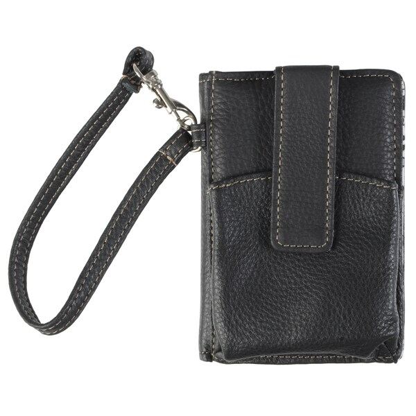Kenneth Cole Women's Genuine Leather Smart Phone Wallet with Wristlet