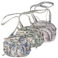Christian Audigier Snake Print Multi-pocket Cross-body Handbag