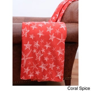 Starfish Microplush Throw