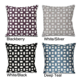 20 x 20 Mosaic Laser Cut Pillow