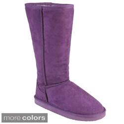 Adi Designs Women's Microsuede Mid-calf Boots