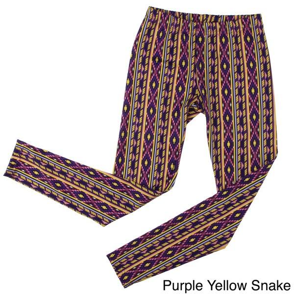 American Apparel Girls Printed Nylon Tricot Legging