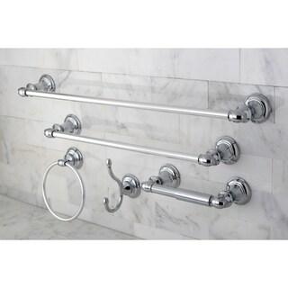 Provence Chrome 5-piece Bathroom Accessory Set