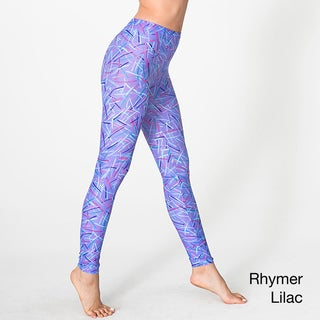 American Apparel Women's Printed Nylon Legging