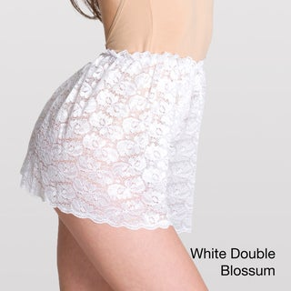 American Apparel Women's Lace Ribbon Lingerie Shorts