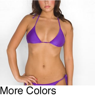 American Apparel Women's Triangle Bikini Top