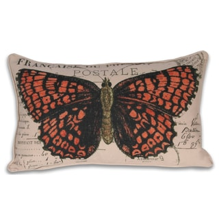 Francaise Butterfly Pillow