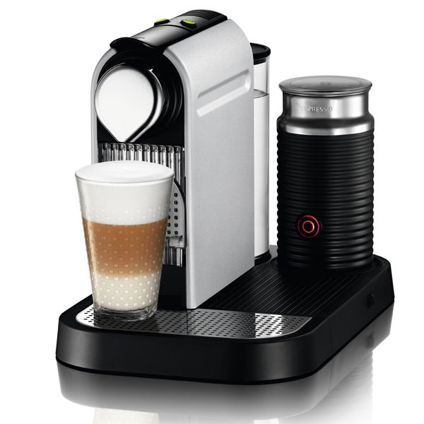 Nespresso C120 Aluminum Citiz Coffee Maker (New)