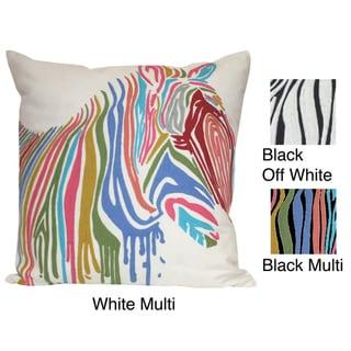 Marlo Lorenz Adaliz Zebra 18-inch Decorative Pillow
