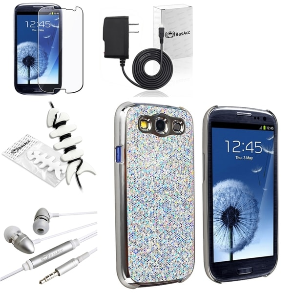 BasAcc Case/ Protector/ Headset/ Charger for Samsung Galaxy S III/ S3
