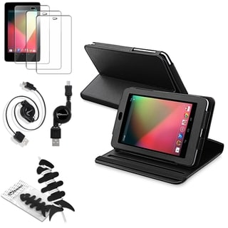 BasAcc Screen Protector/ Case/ Cable/ Wrap for Google Nexus 7