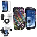 BasAcc Rainbow Star Case/Protector/Mount/Charger for Samsung Galaxy S III/S3