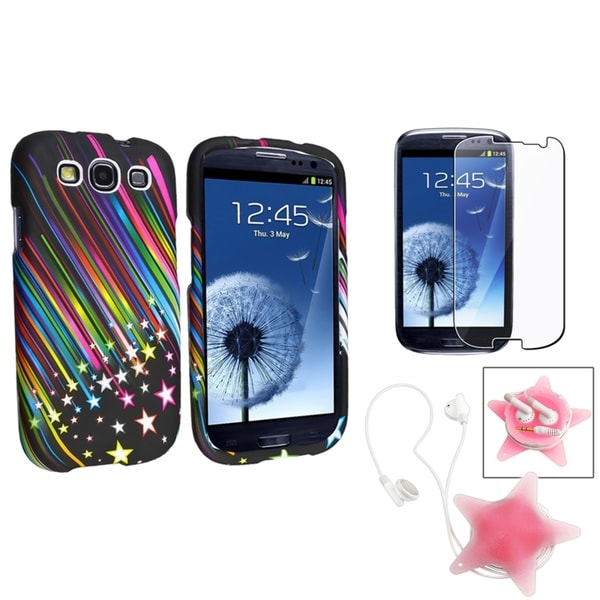 BasAcc Case/ Screen Protector/ Wrap for Samsung Galaxy S III/ S3