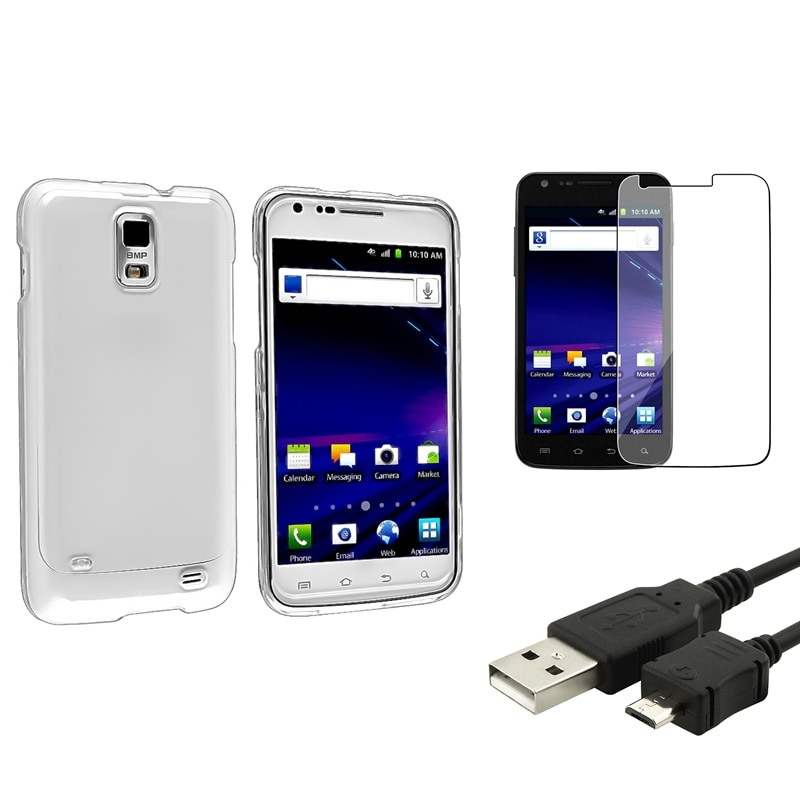 BasAcc Case/ Screen Protector/ Cable for Samsung Skyrocket i727