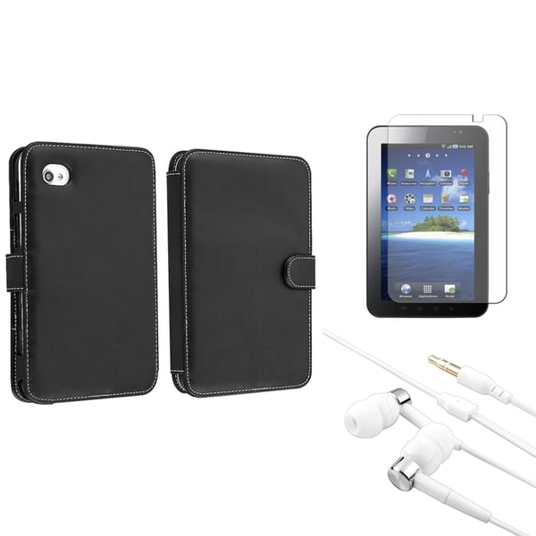 BasAcc Case/ Screen Protector/ Headset for Samsung© Galaxy S P1000