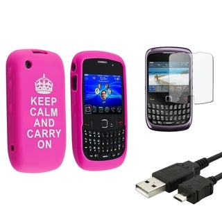 BasAcc Case/ Screen Protector/ Cable for BlackBerry Curve 9300
